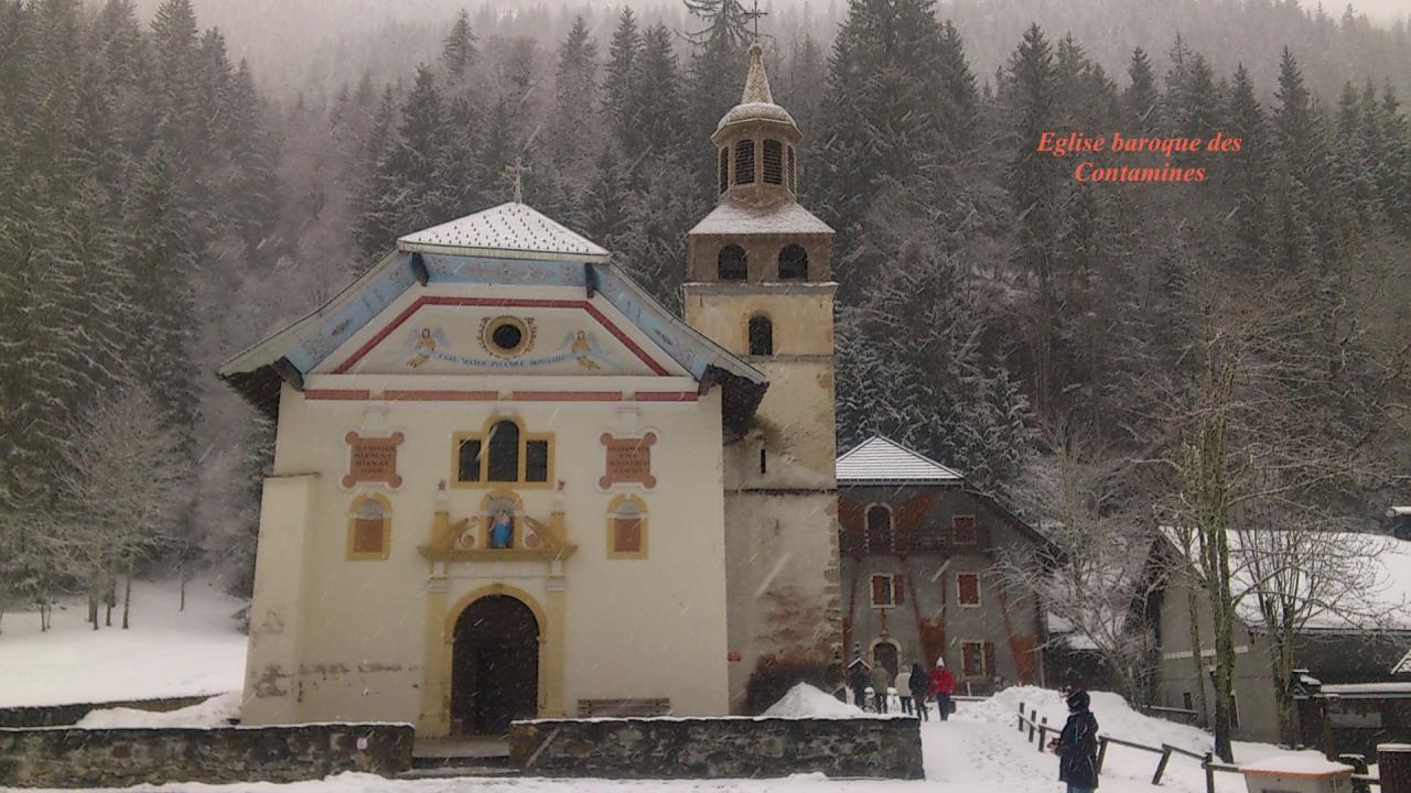 Eglise baroque des Contamines