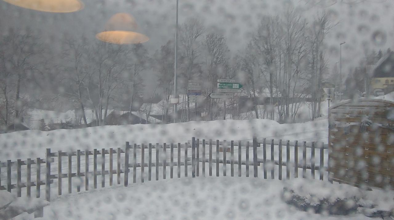 Il neige !!!!