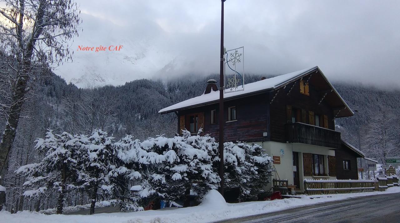 Notre refuge (chalet Caf)