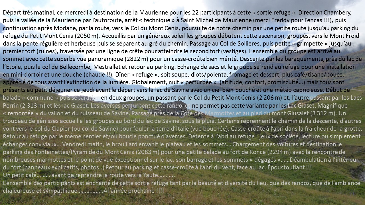 2018 09 05 refuge du petit mont cenisv1