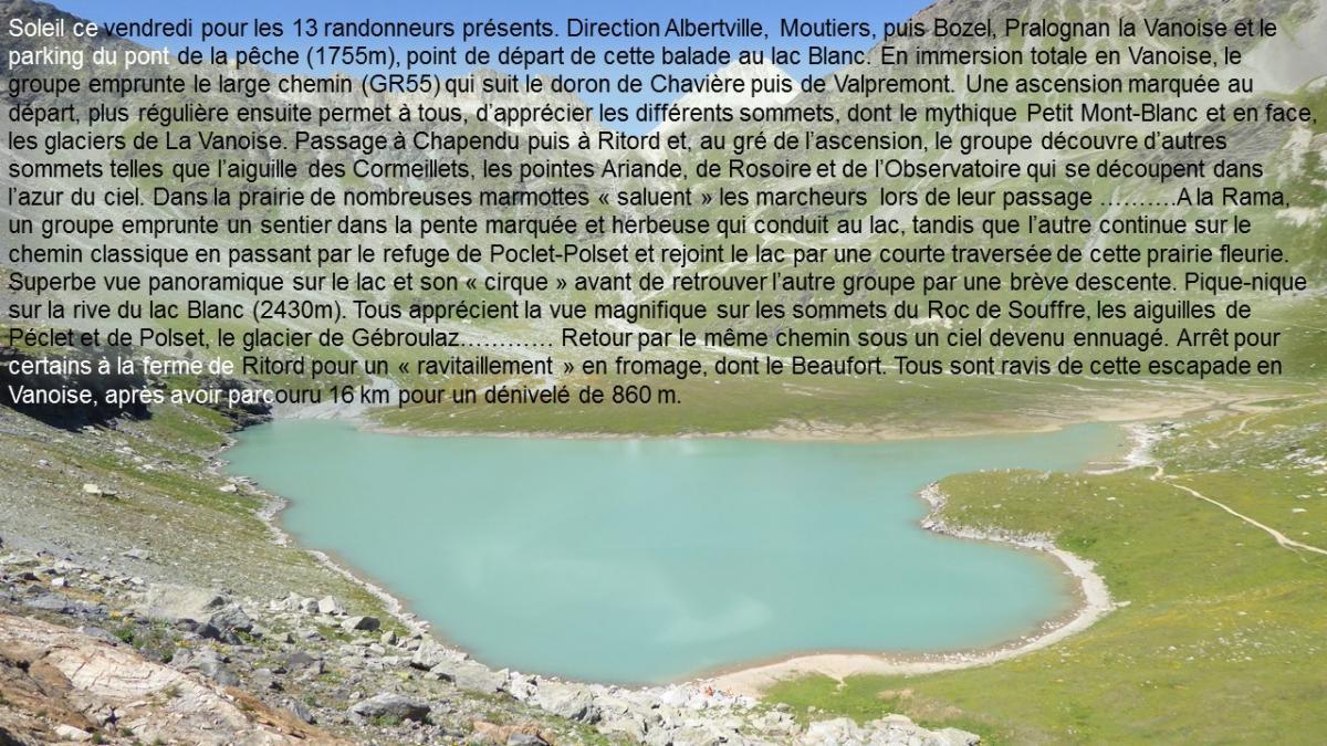 2019 08 09 le lac blanc pralognan