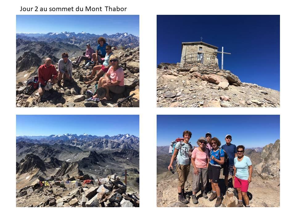 Mini sejour autour du mont thabor jour 2 le sommet