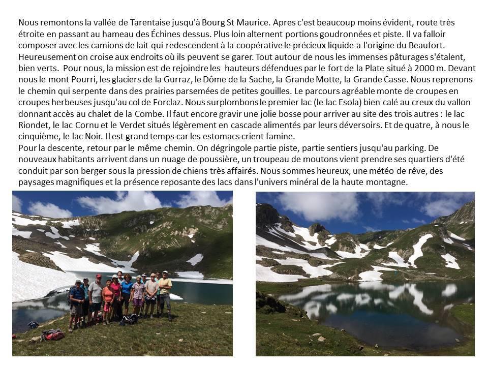 Rando du 16 juillet 2019 les 5 lacs photo 1